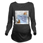 cats-support-staff Long Sleeve Maternity T-Shirt