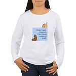 cats-support-staff Women's Long Sleeve T-Shirt
