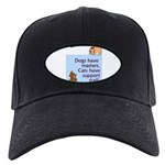 cats-support-staff Black Cap with Patch