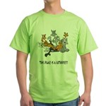 cathouse Green T-Shirt
