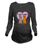 FIN-be-kind-to-animals Long Sleeve Maternity T-Shi