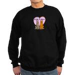 FIN-be-kind-to-animals Sweatshirt (dark)