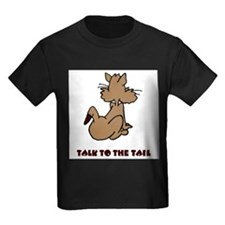 talk-to-the-tail Kids Dark T-Shirt