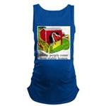 Horse People Stable Homes Maternity Tank Top