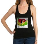 Horse People Stable Homes Racerback Tank Top