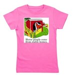 Horse People Stable Homes Girl's Tee