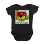 Horse People Stable Homes Baby Bodysuit