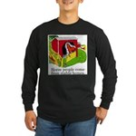 Horse People Stable Homes Long Sleeve Dark T-Shirt