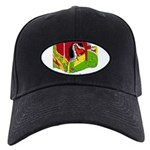 Horse People Stable Homes Black Cap with Patch