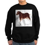 Horse Cave Painting Sweatshirt (dark)