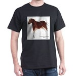Horse Cave Painting Dark T-Shirt