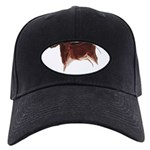 Horse Cave Painting Black Cap with Patch