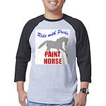 Paint Horse Pride Mens Baseball Tee