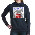 Paint Horse Pride Women's Hooded Sweatshirt