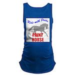 Paint Horse Pride Maternity Tank Top