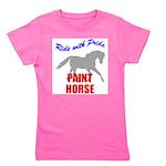 Paint Horse Pride Girl's Tee
