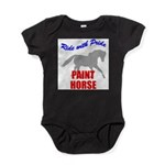 Paint Horse Pride Baby Bodysuit