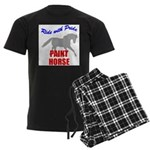 Paint Horse Pride Men's Dark Pajamas