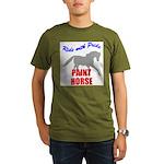 Paint Horse Pride Organic Men's T-Shirt (dark)