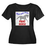 Paint Horse Pride Women's Plus Size Scoop Neck Dar