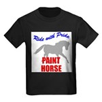 Paint Horse Pride Kids Dark T-Shirt