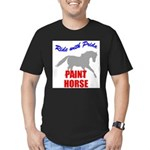 Paint Horse Pride Men's Fitted T-Shirt (dark)