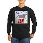 Paint Horse Pride Long Sleeve Dark T-Shirt