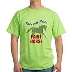 Paint Horse Pride Green T-Shirt