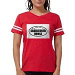 American Saddlebred Horse Gif Womens Football Shir