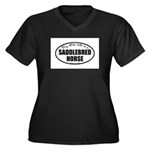 American Saddlebred Horse Gif Women's Plus Siz