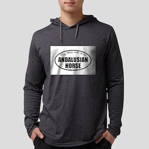 Andalusian Horse Gifts Mens Hooded Shirt