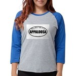 Appaloosa Horse Gifts Womens Baseball Tee