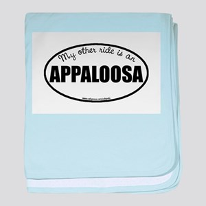 Appaloosa Horse Gifts baby blanket