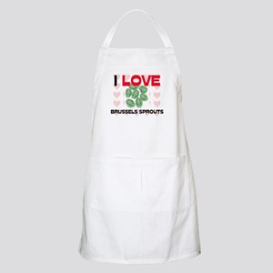 I Love Brussels Sprouts BBQ Apron