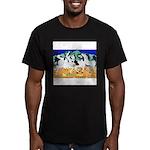 Appaloosa-Dance Men's Fitted T-Shirt (dark)