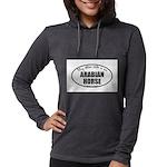 Arabian Horse Gifts Womens Hooded Shirt