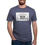 Breton Horse Gifts Mens Tri-blend T-Shirt