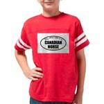Canadian Horse Gifts Youth Football Shirt