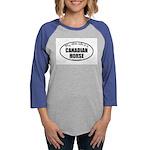 Canadian Horse Gifts Womens Baseball Tee