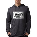 Canadian Horse Gifts Mens Hooded Shirt