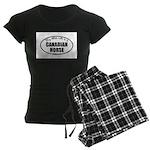 Canadian Horse Gifts Women's Dark Pajamas