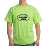 Canadian Horse Gifts Green T-Shirt