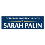 Desparate Housewives for Palin Bumper Sticker
