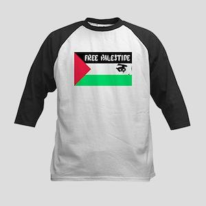 Free Palestine Palestinian Flag - Baseball Jersey