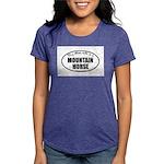 Mountain Horse Gifts Womens Tri-blend T-Shirt