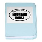 Mountain Horse Gifts baby blanket
