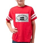 Norwegian Fjord Horse Gifts Youth Football Shirt