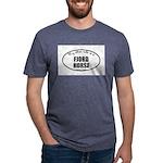 Norwegian Fjord Horse Gifts Mens Tri-blend T-Shirt