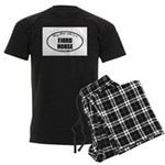 Norwegian Fjord Horse Gifts Men's Dark Pajamas