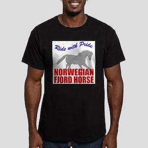 rwp-norwegian-fjord-horse Men's Fitted T-Shirt (da